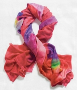 """Anticipation"" cashmere blend scarf"