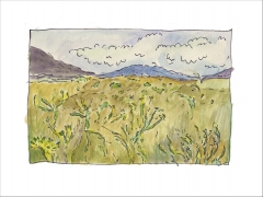 New Mexico-Giclee print