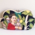 Frida Kahlo with monkey, large sunglass case