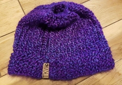 Ponytail Knit Cap